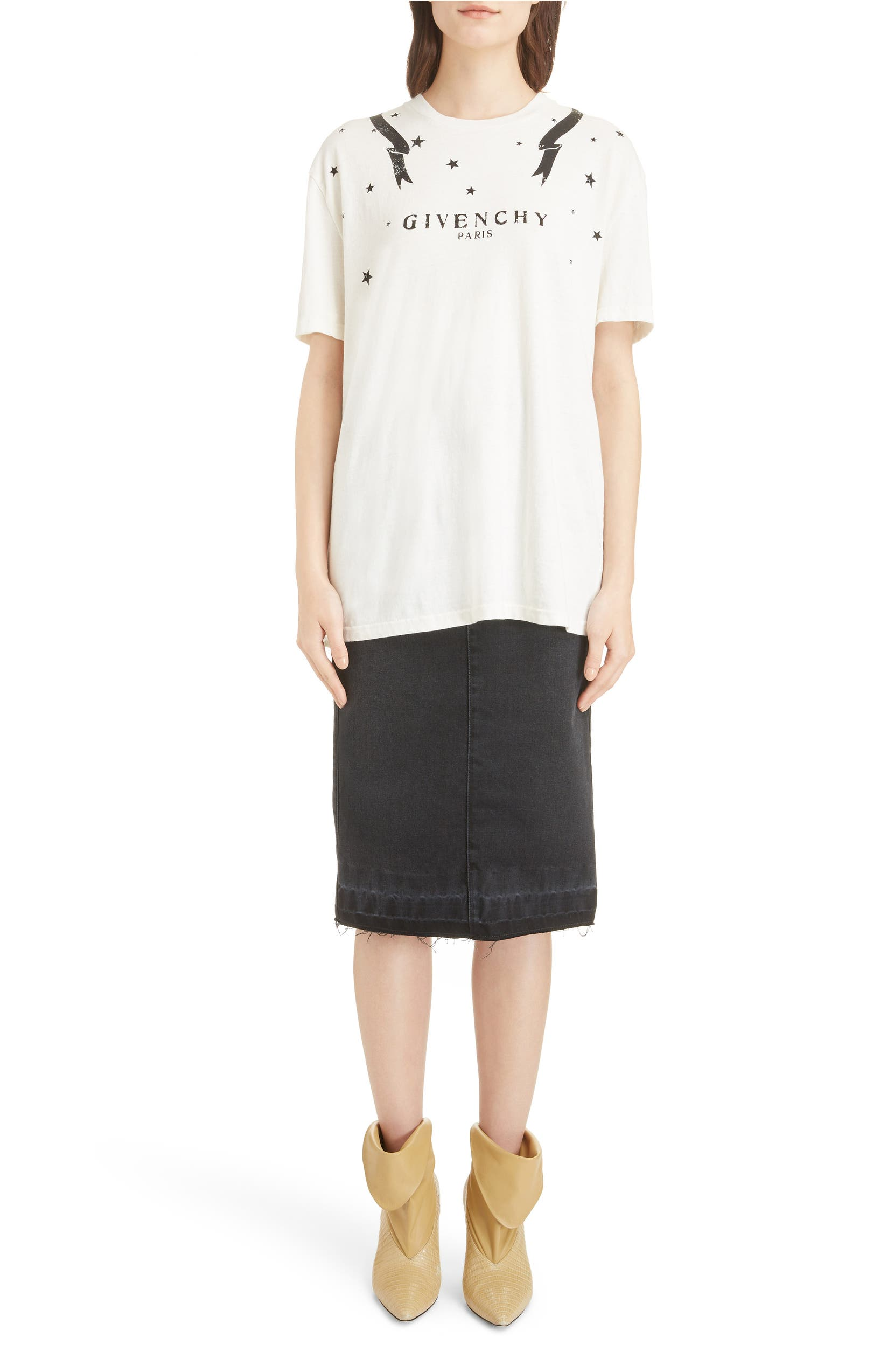 0880fb4d1 Givenchy Gemini Back Graphic Tee | Nordstrom