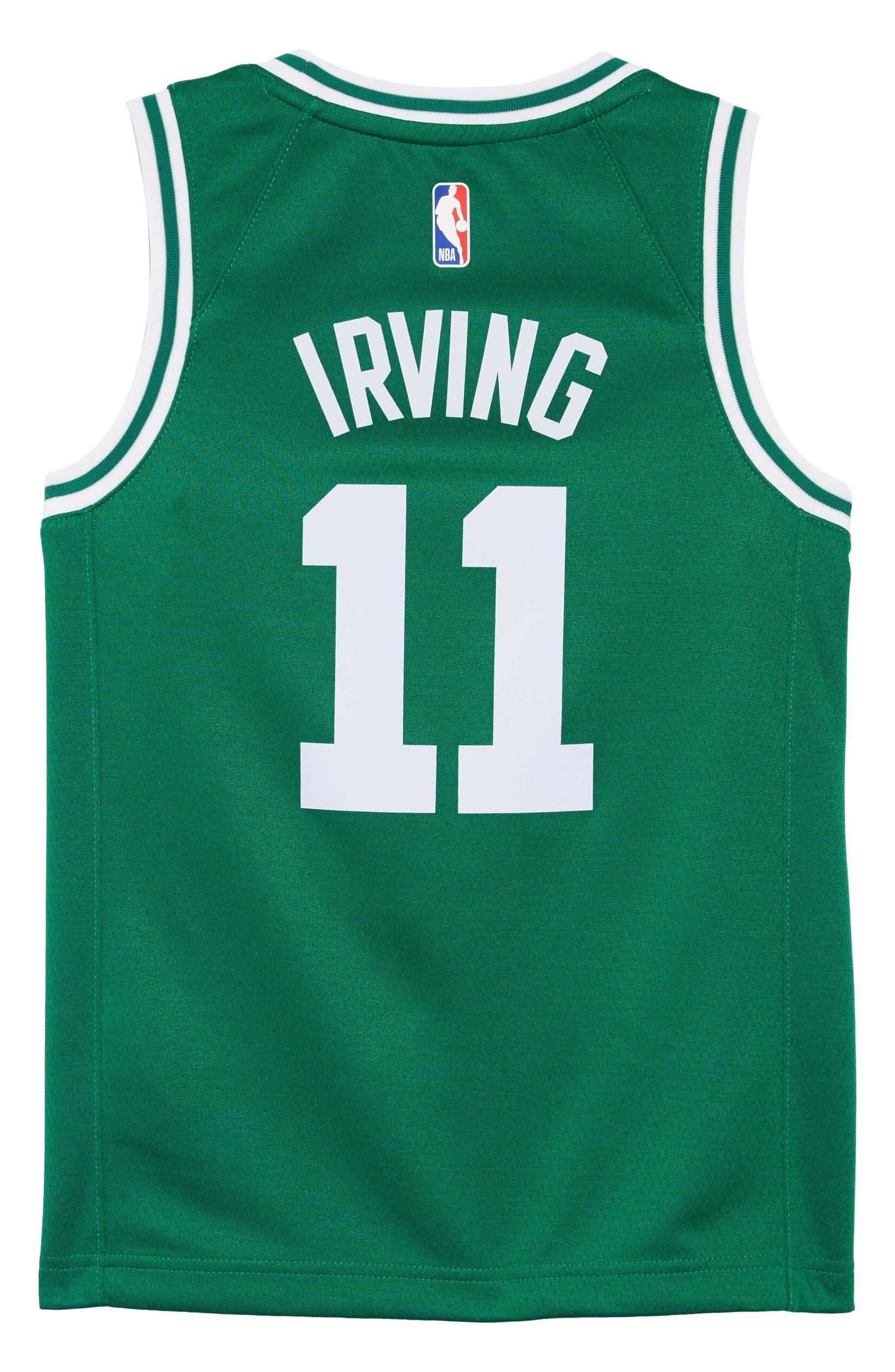 405d2013483 Nike Boston Celtics Kyrie Irving Basketball Jersey (Big Boys ...