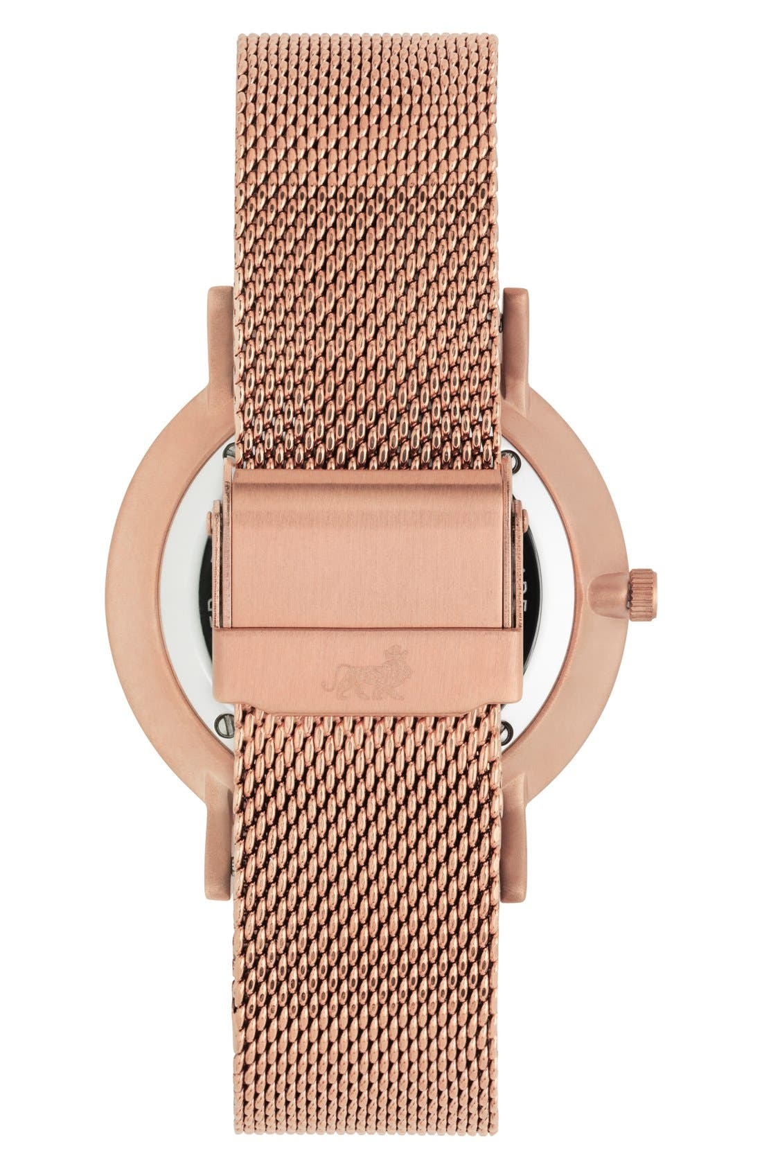 ,                             Lugano Mesh Strap Watch, 40mm,                             Alternate thumbnail 38, color,                             711