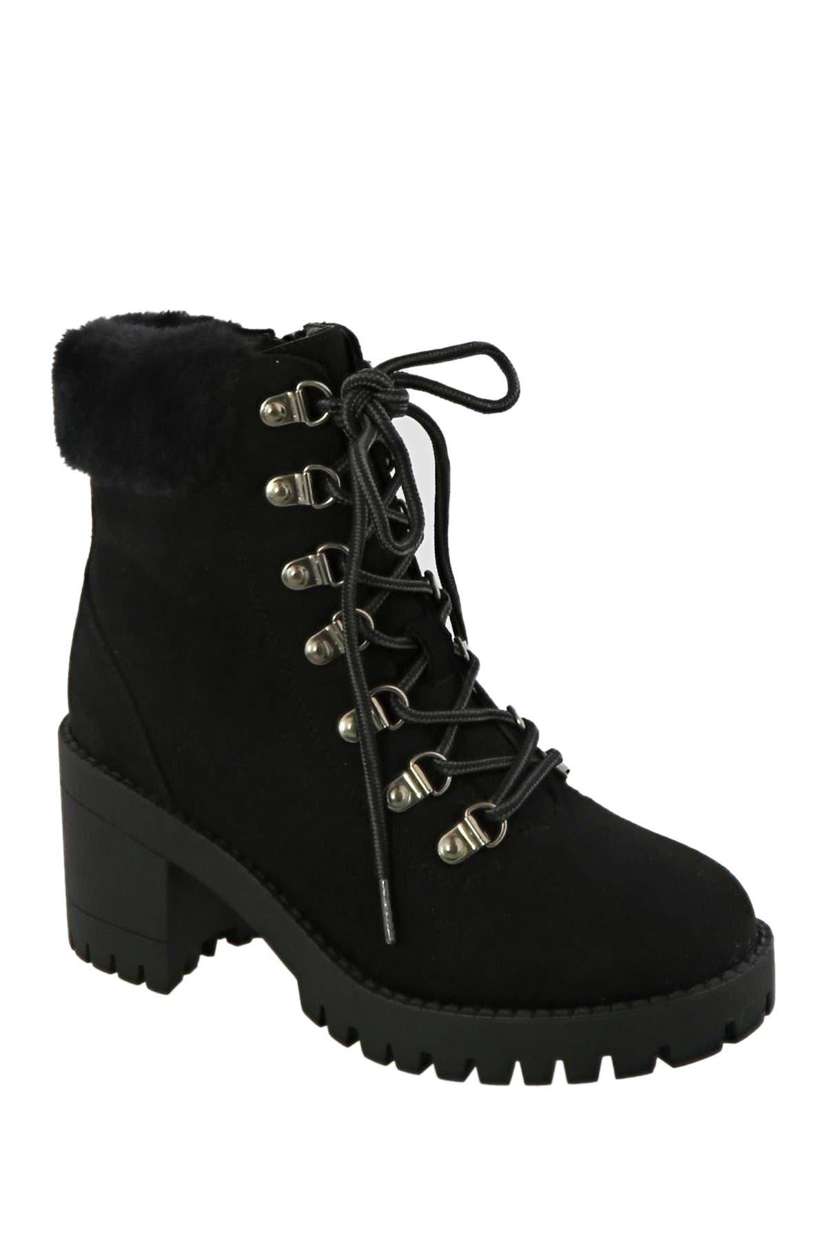 Top Moda | Lace Up Booties | Nordstrom Rack
