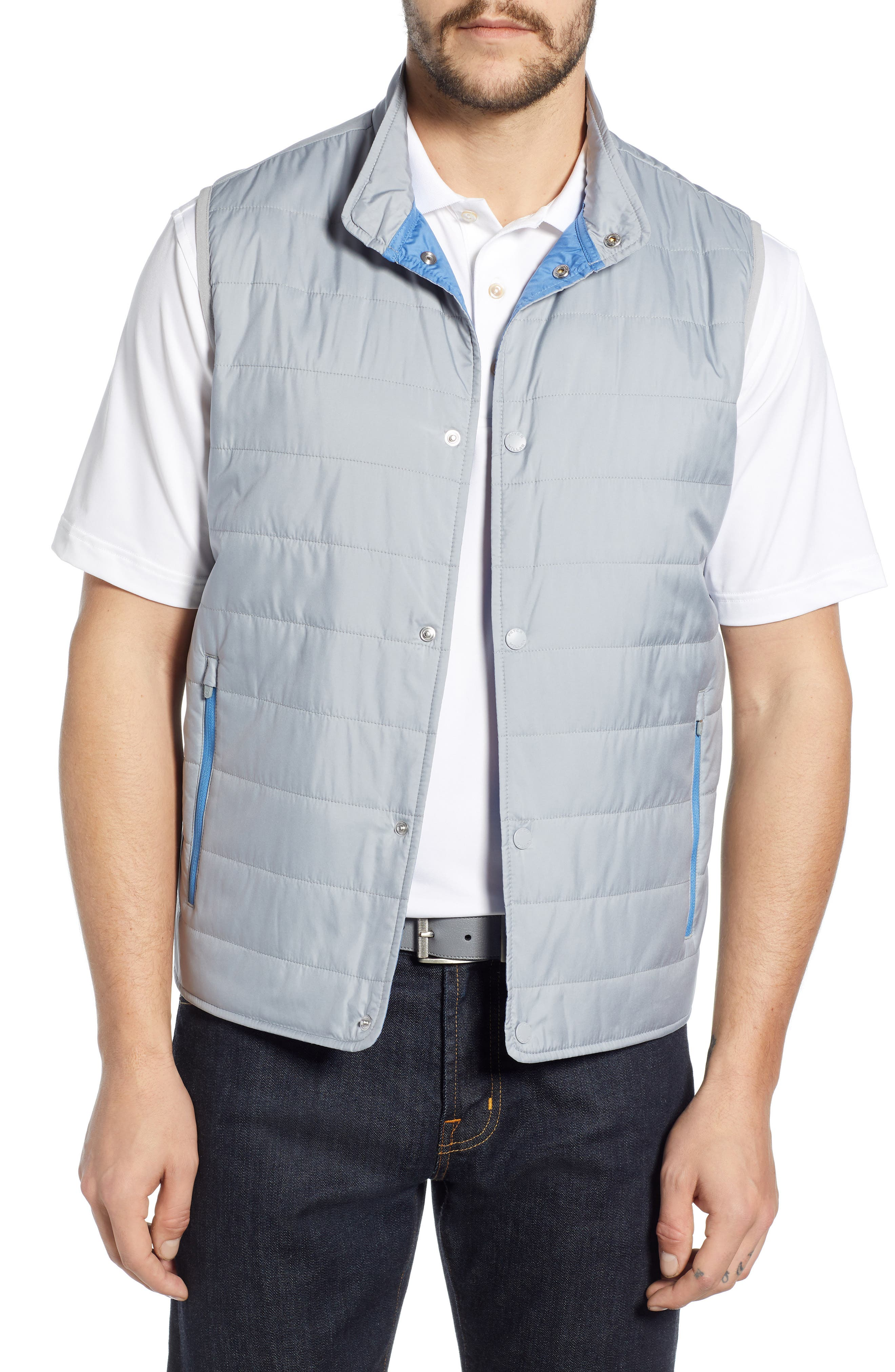 Peter Millar Hyperlight Vest, Grey