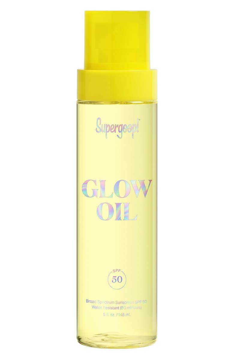 SUPERGOOP!<SUP>®</SUP> Supergoop! Glow Oil SPF 50, Main, color, NO COLOR