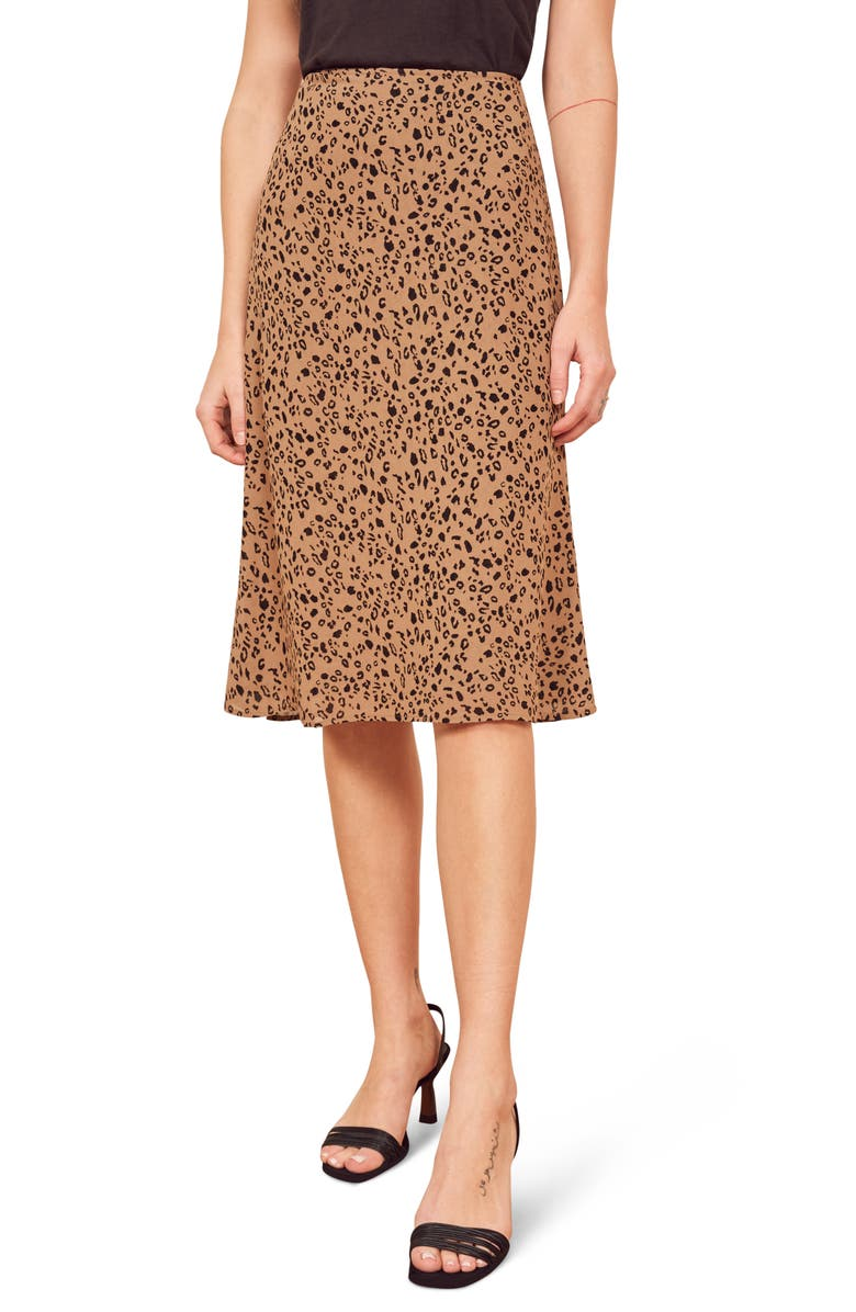 REFORMATION Mia Skirt, Main, color, KITTEN