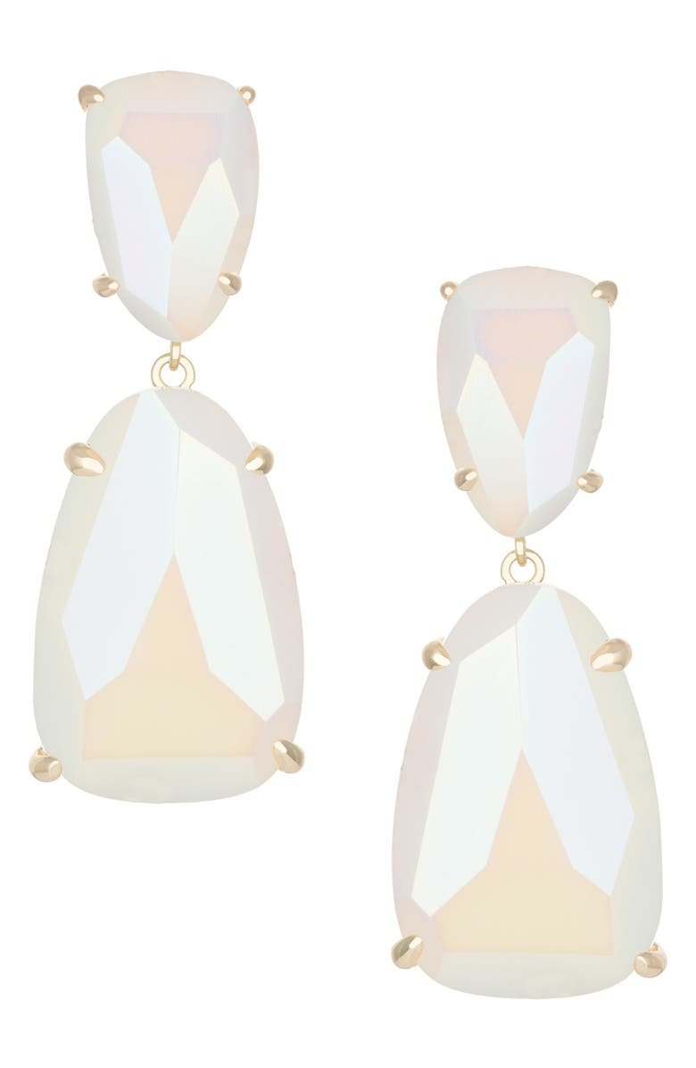 KENDRA SCOTT 'Katie' Stone Drop Earrings, Main, color, 100