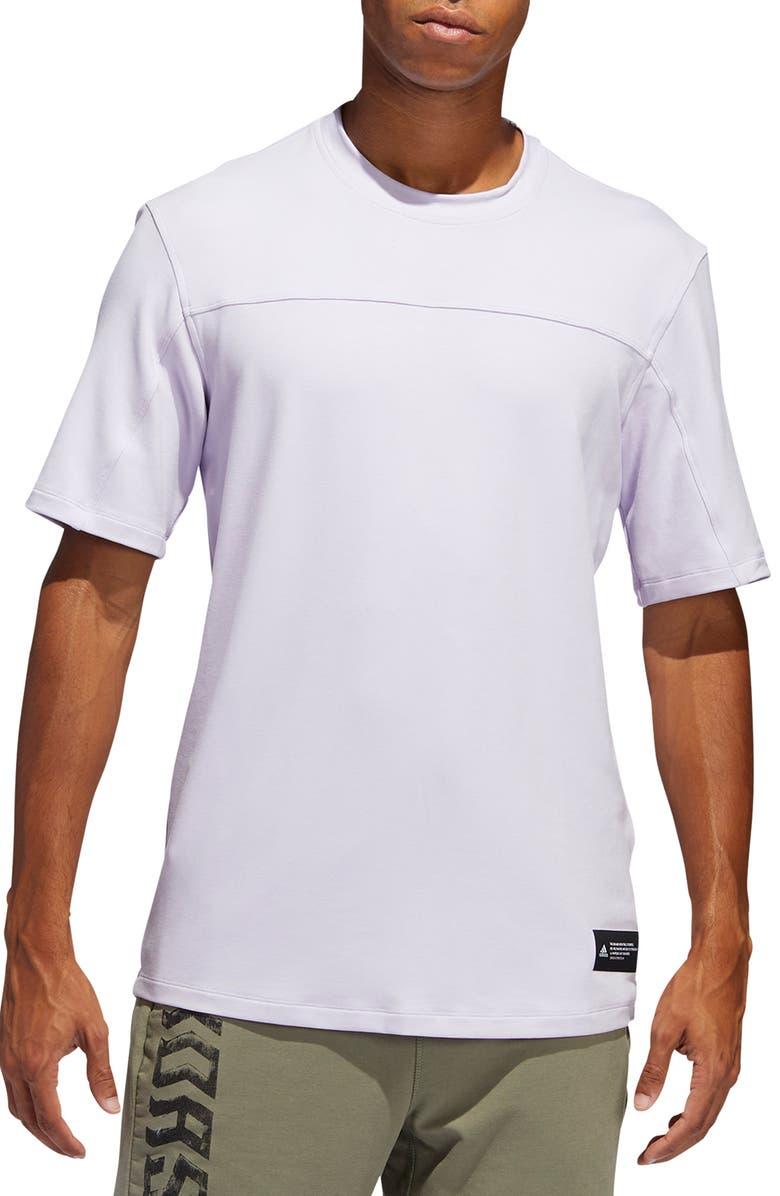ADIDAS TKO T-Shirt, Main, color, PURPLE TINT