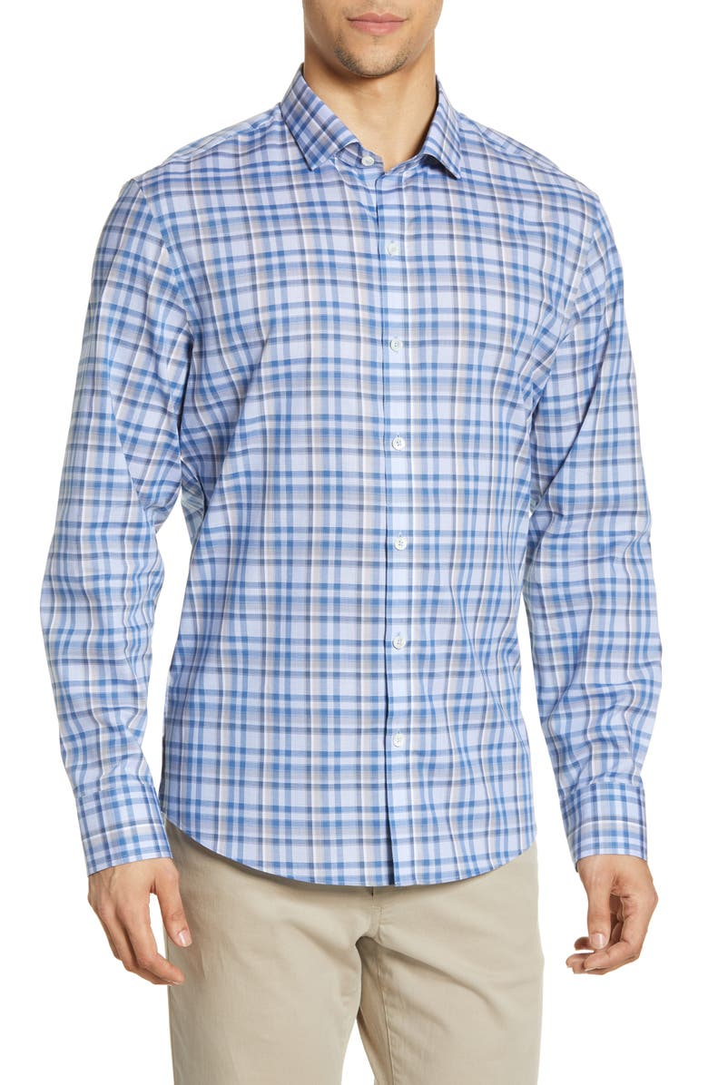 ZACHARY PRELL Habermann Regular Fit Shirt, Main, color, 410