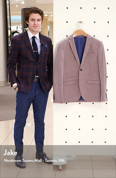 Cody Slim Fit Tweed Sport Coat, sales video thumbnail