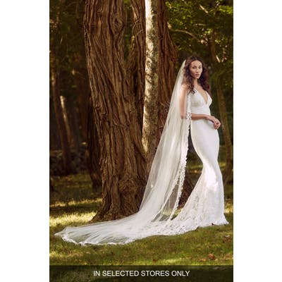 Marchesa Notte Caree Lace Wedding Dress, Size IN STORE ONLY - Ivory