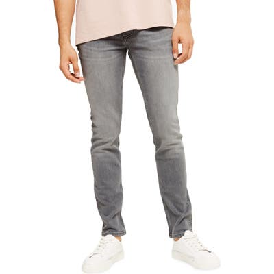 Topman Skinny Fit Jeans, Grey