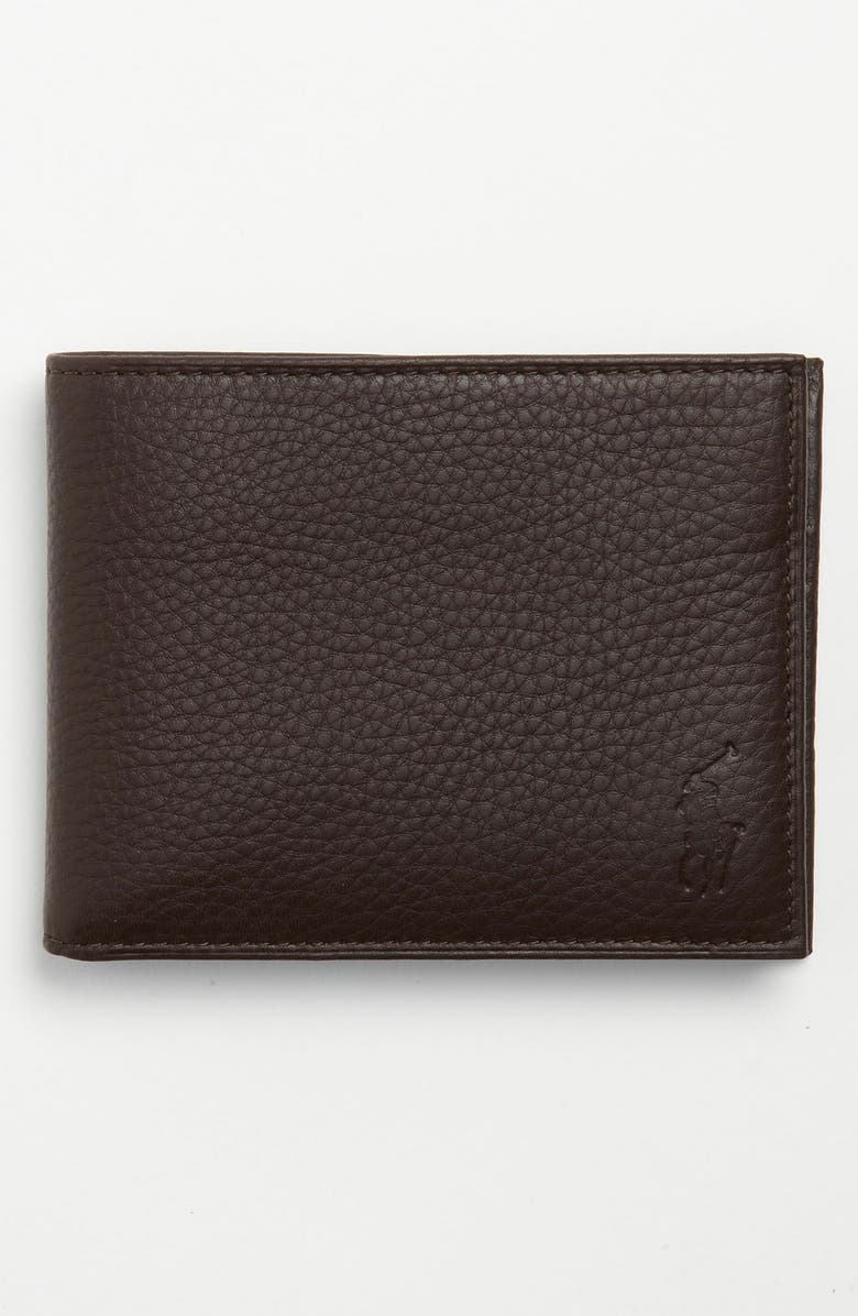 078fca13 Leather Passcase Wallet