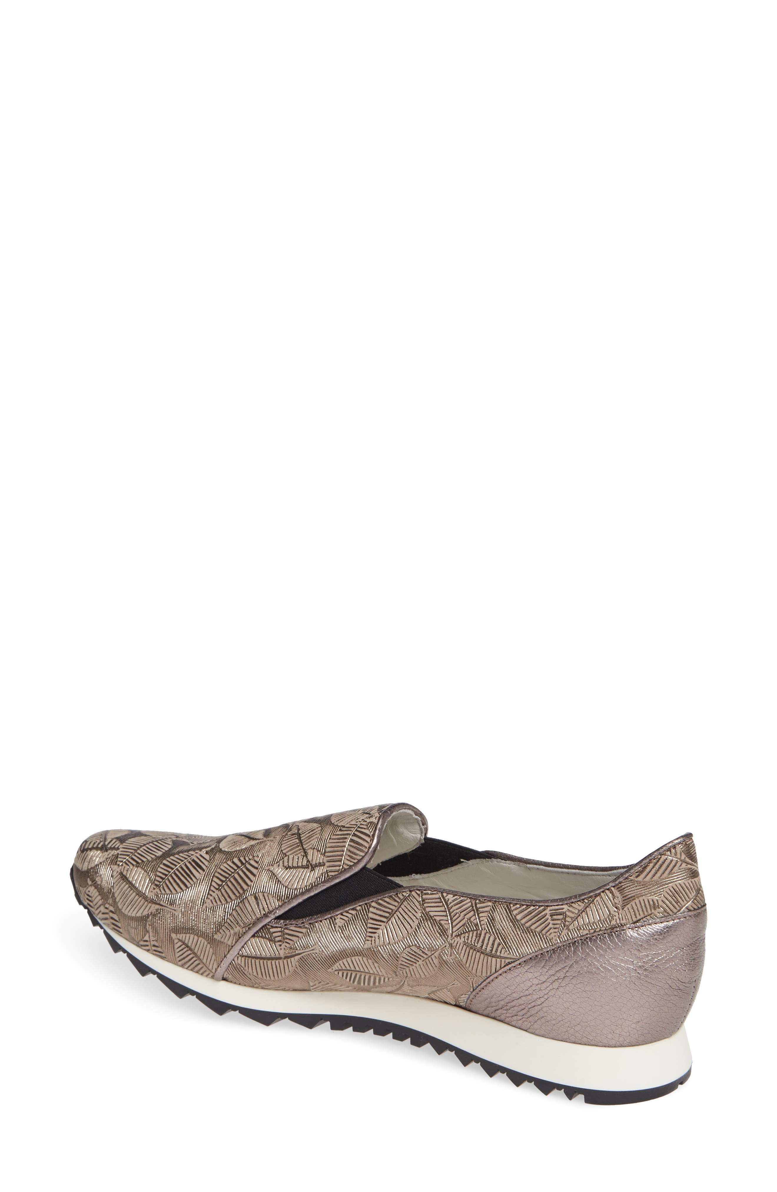 ,                             Francia Slip-On Sneaker,                             Alternate thumbnail 2, color,                             TAUPE LEATHER