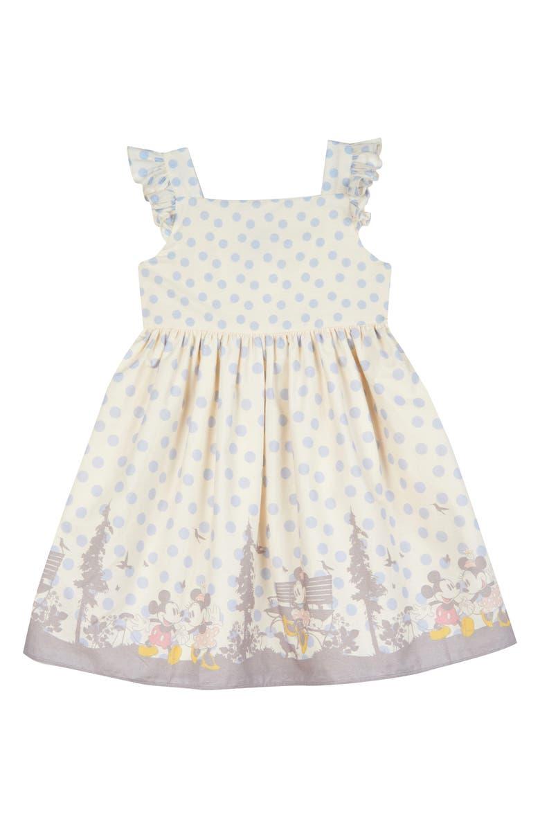 PIPPA & JULIE x Disney Border Print Dress, Main, color, 900