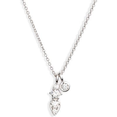 Nadri Double Pendant Necklace