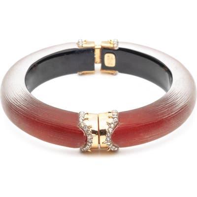 Alexis Bittar Pave Crystal Hinge Bracelet