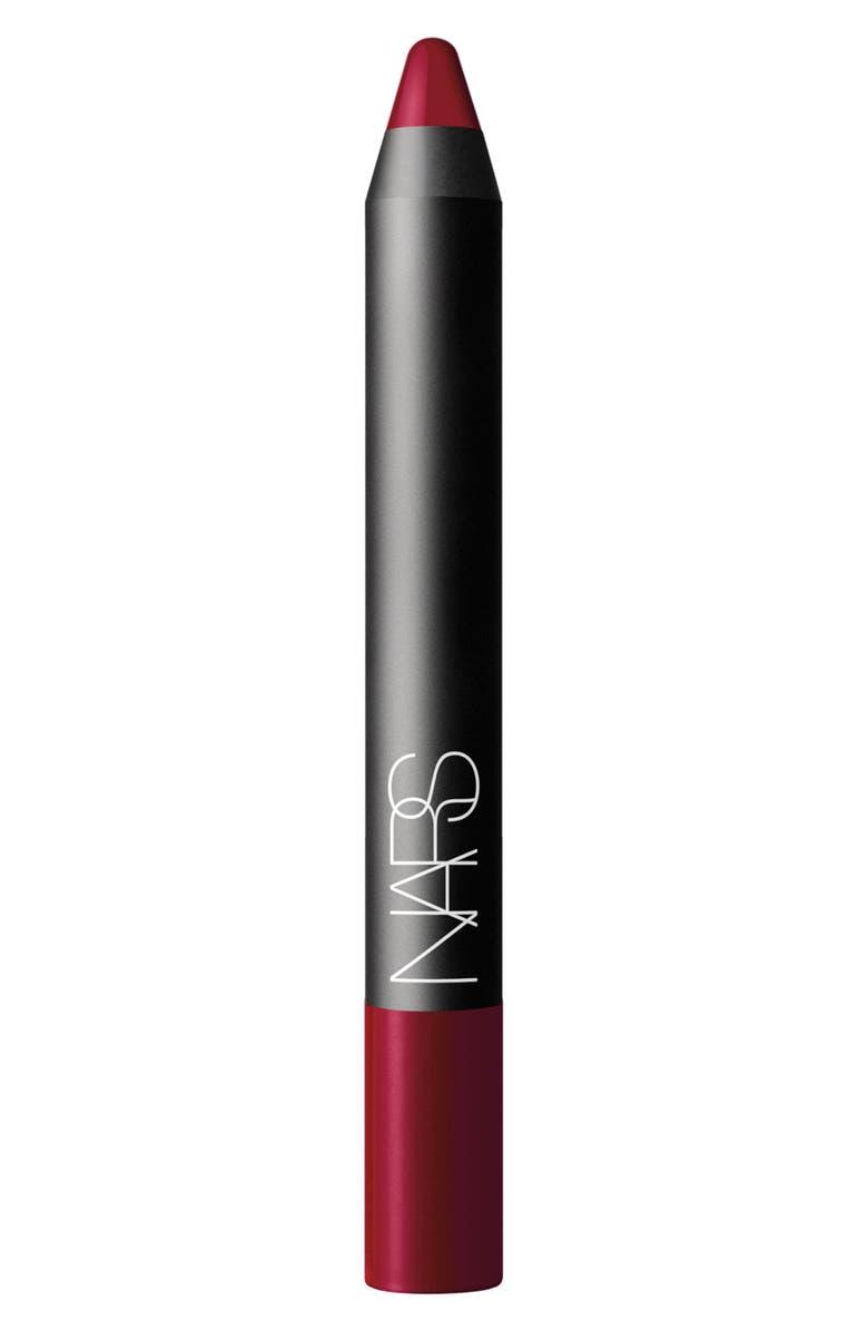 NARS Velvet Matte Lipstick Pencil, Main, color, MYSTERIOUS RED