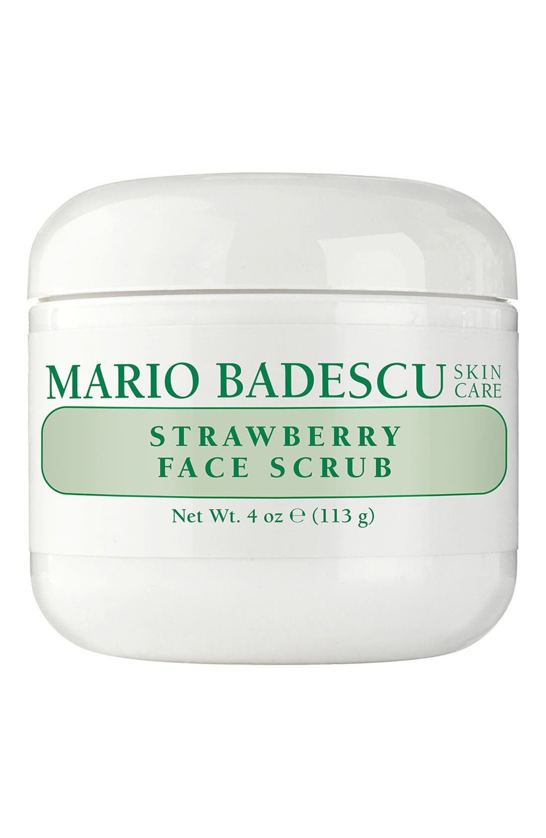 What it is: A delicious and decadent face scrub that naturally exfoliates dull, tired skin. What it does: It gently buffs away dead skin cells with non-irritating strawberry seeds and other nourishing botanicals to reveal a softer and more radiant complexion. How to use: Use light pressure to apply the scrub onto your skin. Massage all areas of the face using upward, circular motions for 30 seconds, then rinse with warm water. For best results,