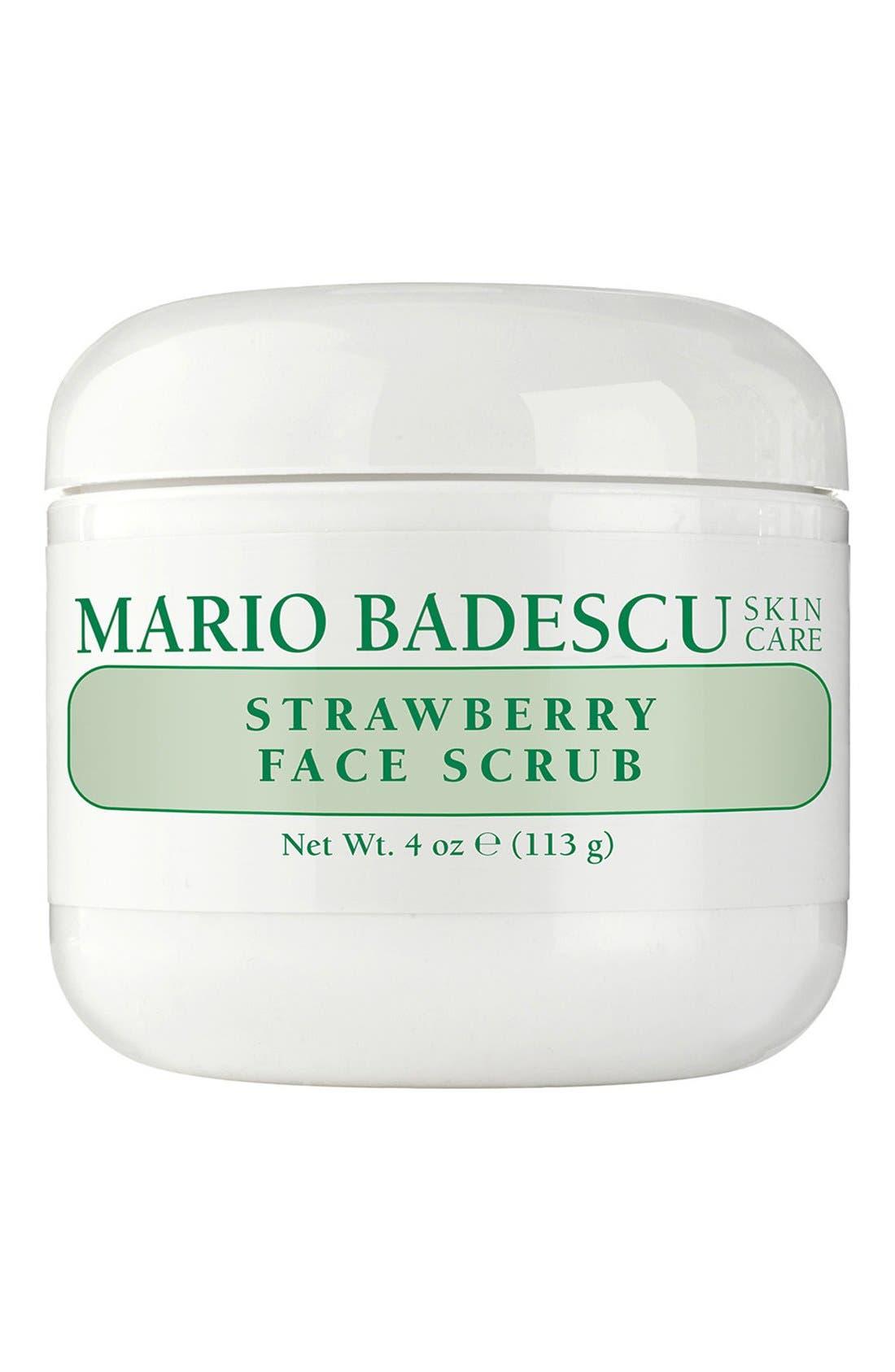 Strawberry Face Scrub, Main, color, NO COLOR