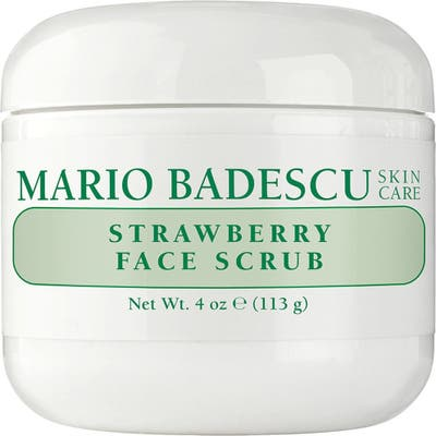 Mario Badescu Strawberry Face Scrub, oz