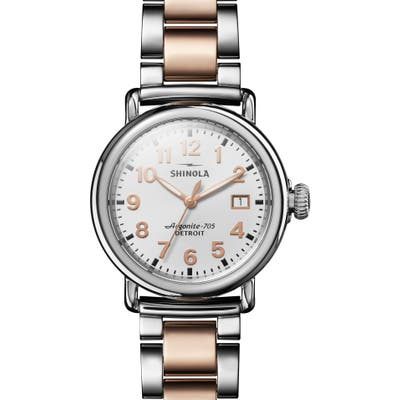 Shinola The Runwell Bracelet Watch,