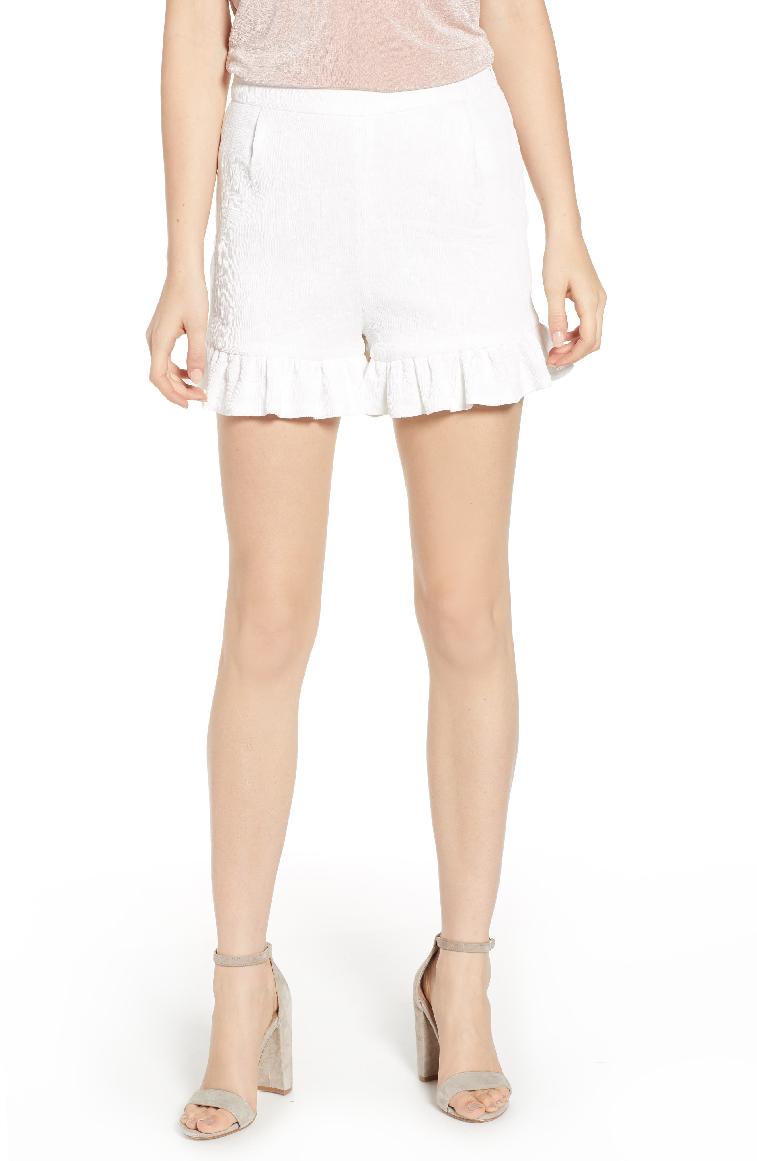Women's Endless Rose Flutter Hem Shorts