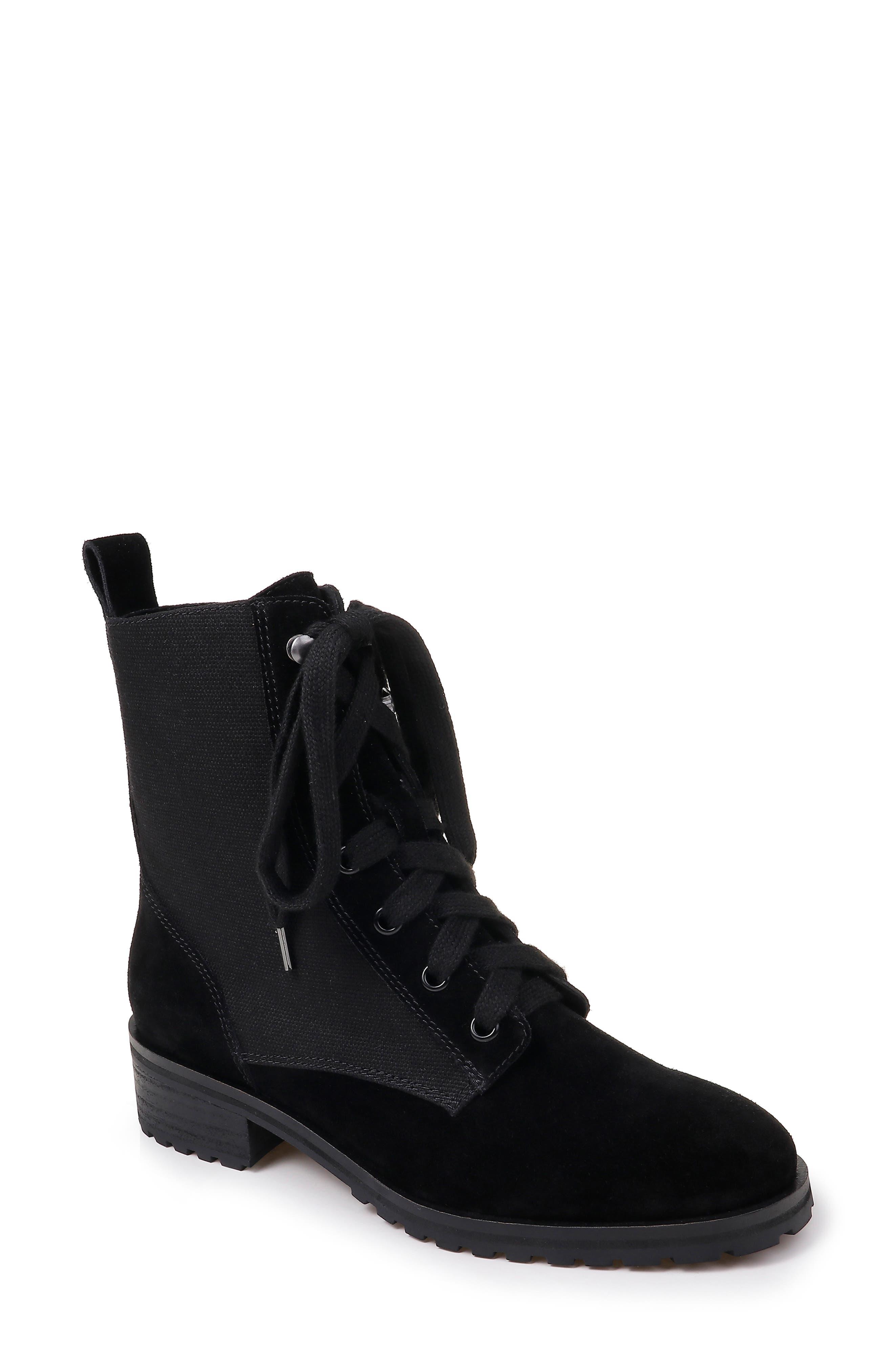 Splendid Hermilla Lace-Up Boot, Black