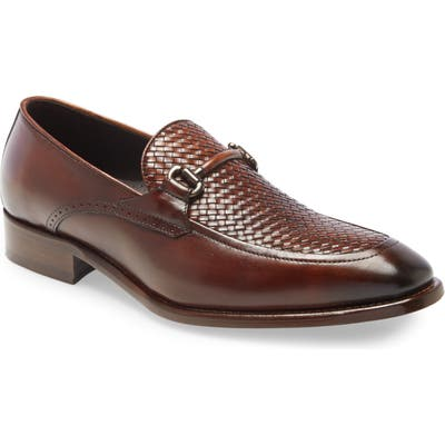 Johnston & Murphy Cormac Bit Loafer, Brown
