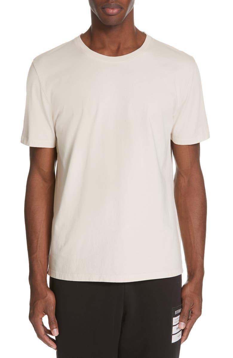 MAISON MARGIELA Crewneck T-Shirt, Main, color, WARM BEIGE