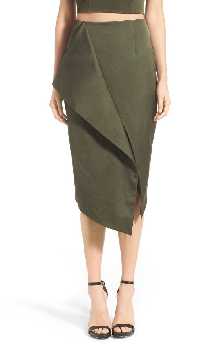 KEEPSAKE THE LABEL 'Inhibitions' Pencil Skirt, Main, color, 351