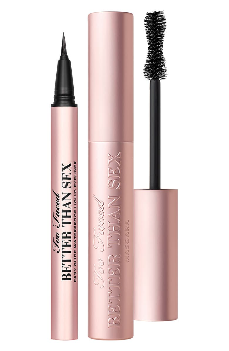 TOO FACED Full Size Better Than Sex Iconic Lashes & Liner Set, Main, color, NO COLOR