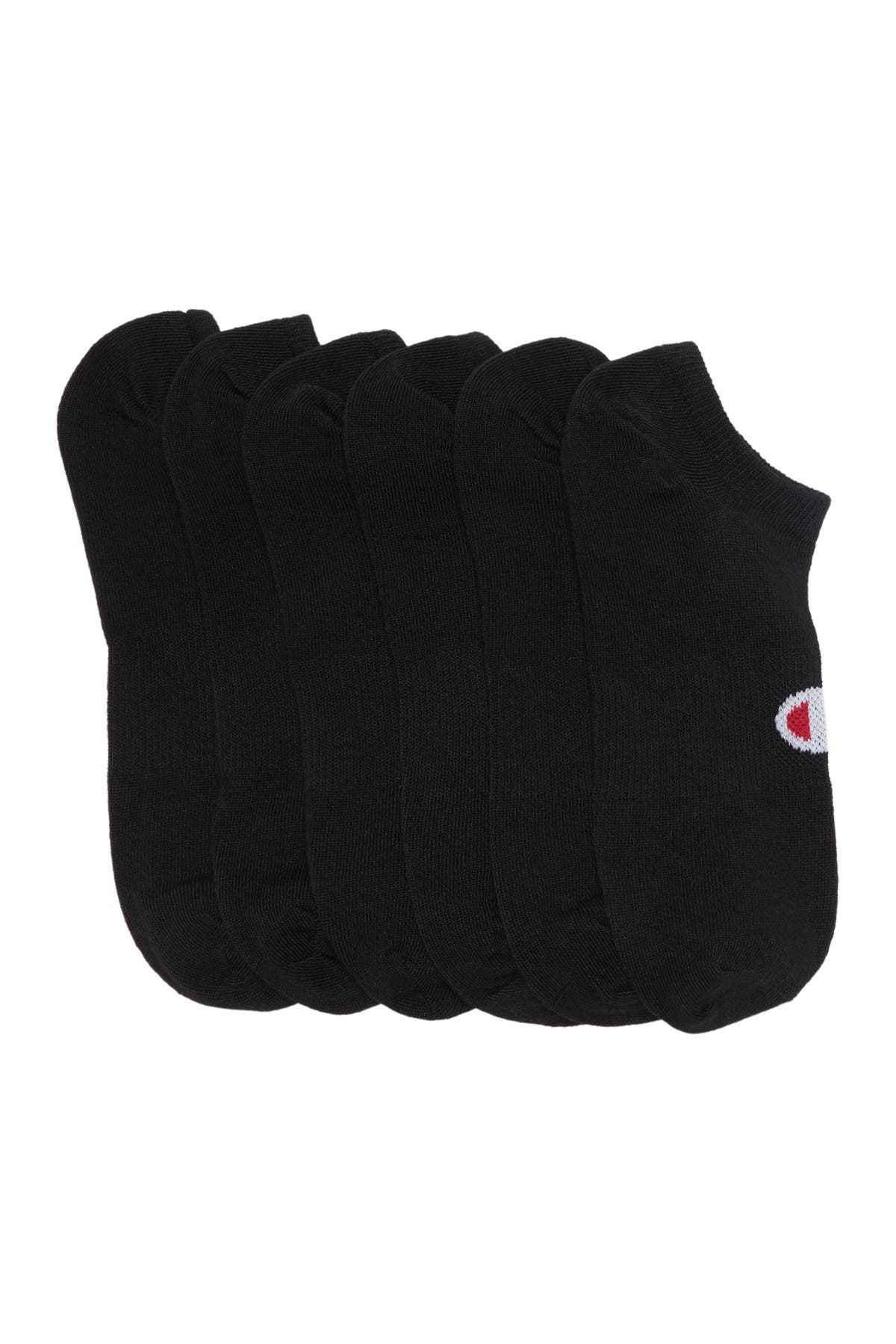 Image of Champion Core Super Low No Show Socks - Pack of 6