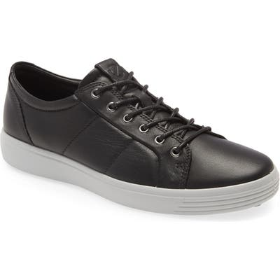 Ecco Soft 7 Premium Sneaker, Black