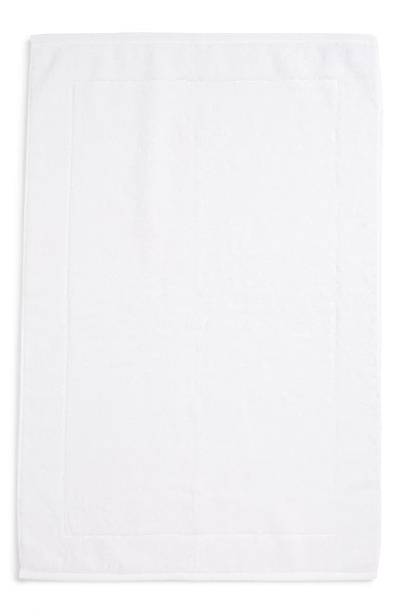 MATOUK Milagro Bath Mat, Main, color, WHITE
