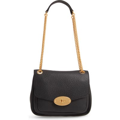 Mulberry Small Darley Leather Convertible Shoulder Bag - Black