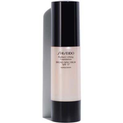 Shiseido Radiant Lifting Foundation Spf 17, oz - B20 Natural Light Beige
