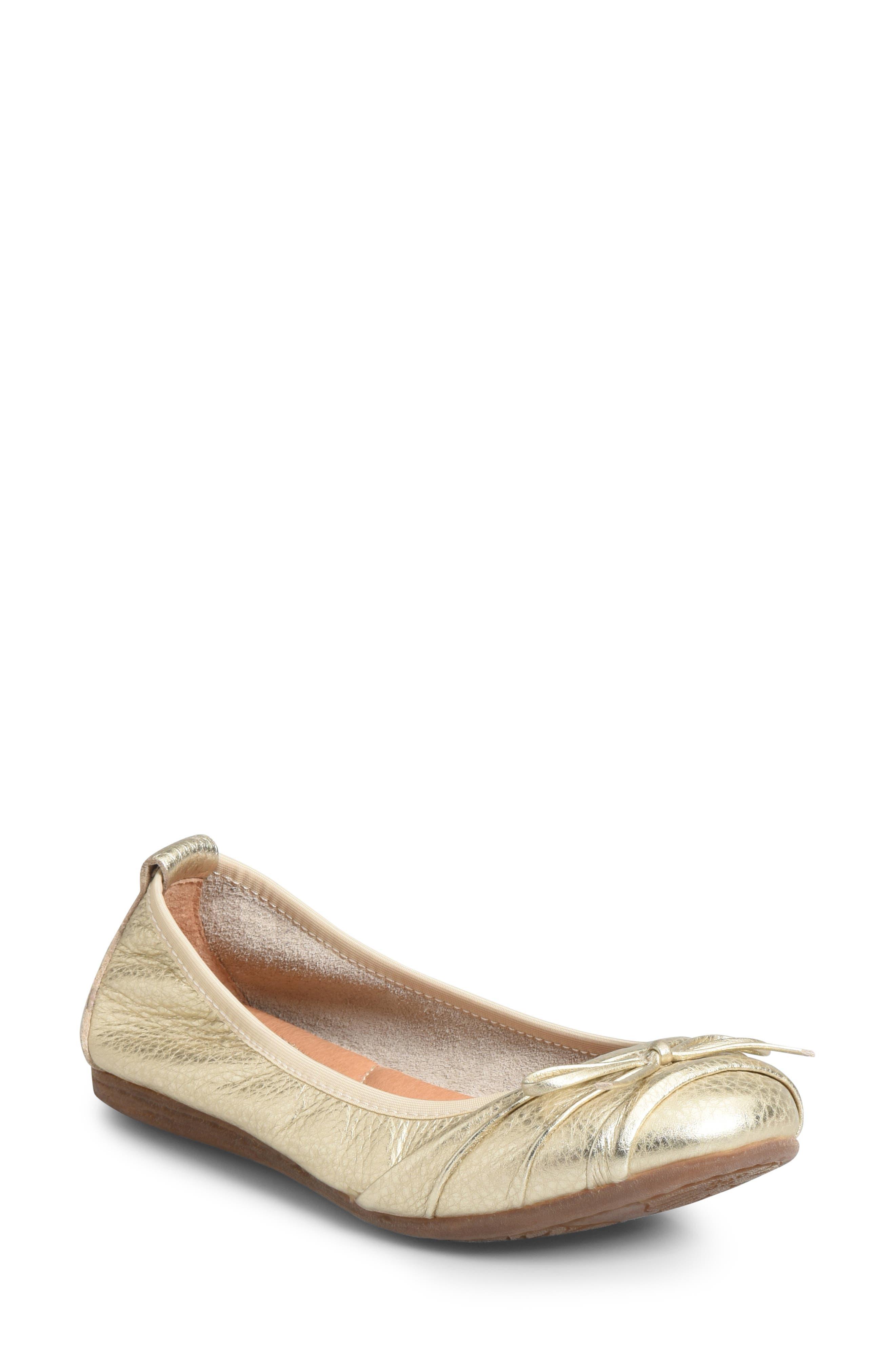 B?rn Chelan Ballet Flat- Metallic