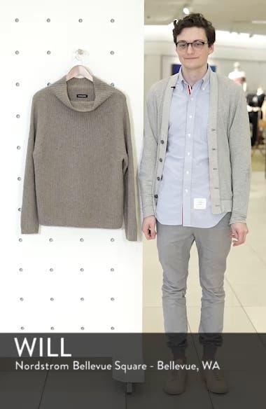 Rib Funnel Neck Sweater, sales video thumbnail