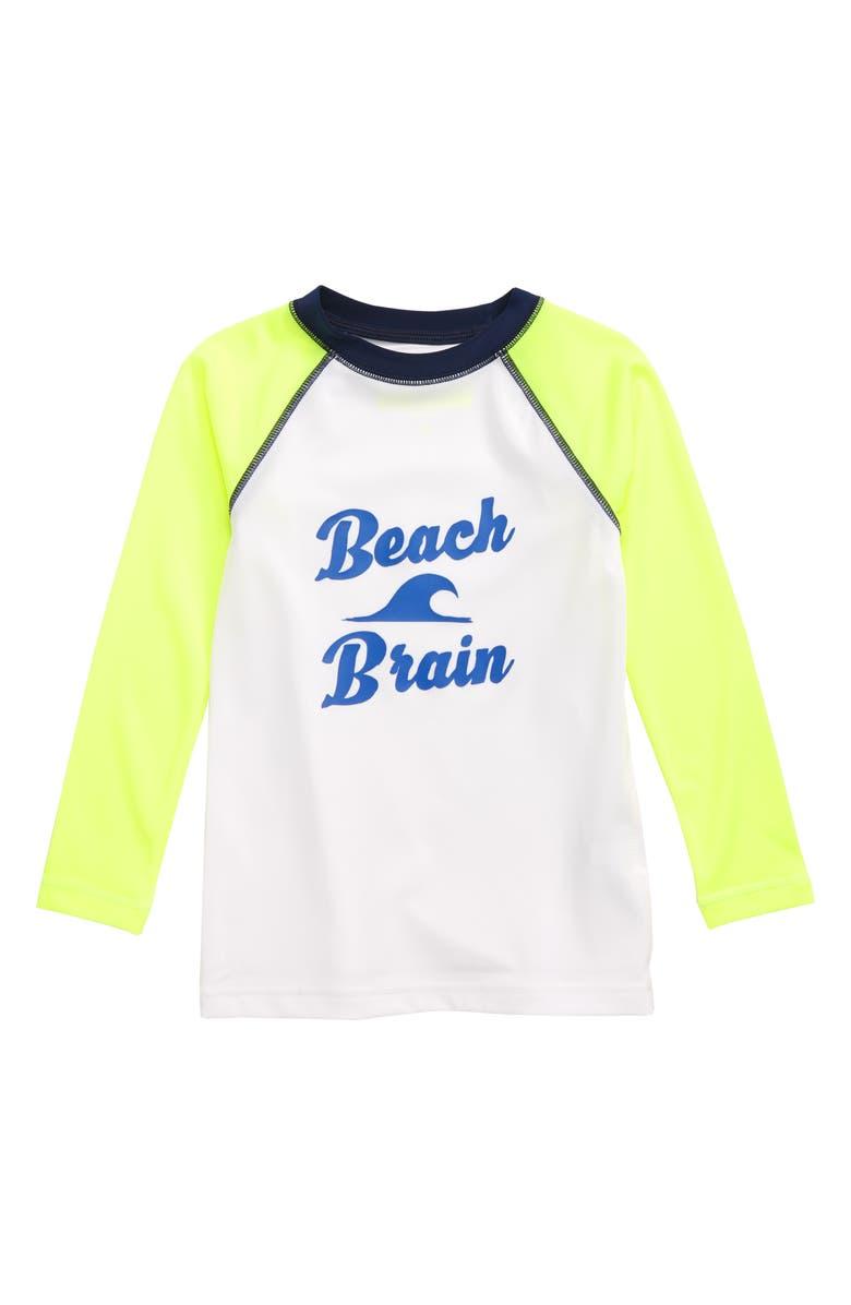 CREWCUTS BY J.CREW Beach Brain Rashguard, Main, color, 700
