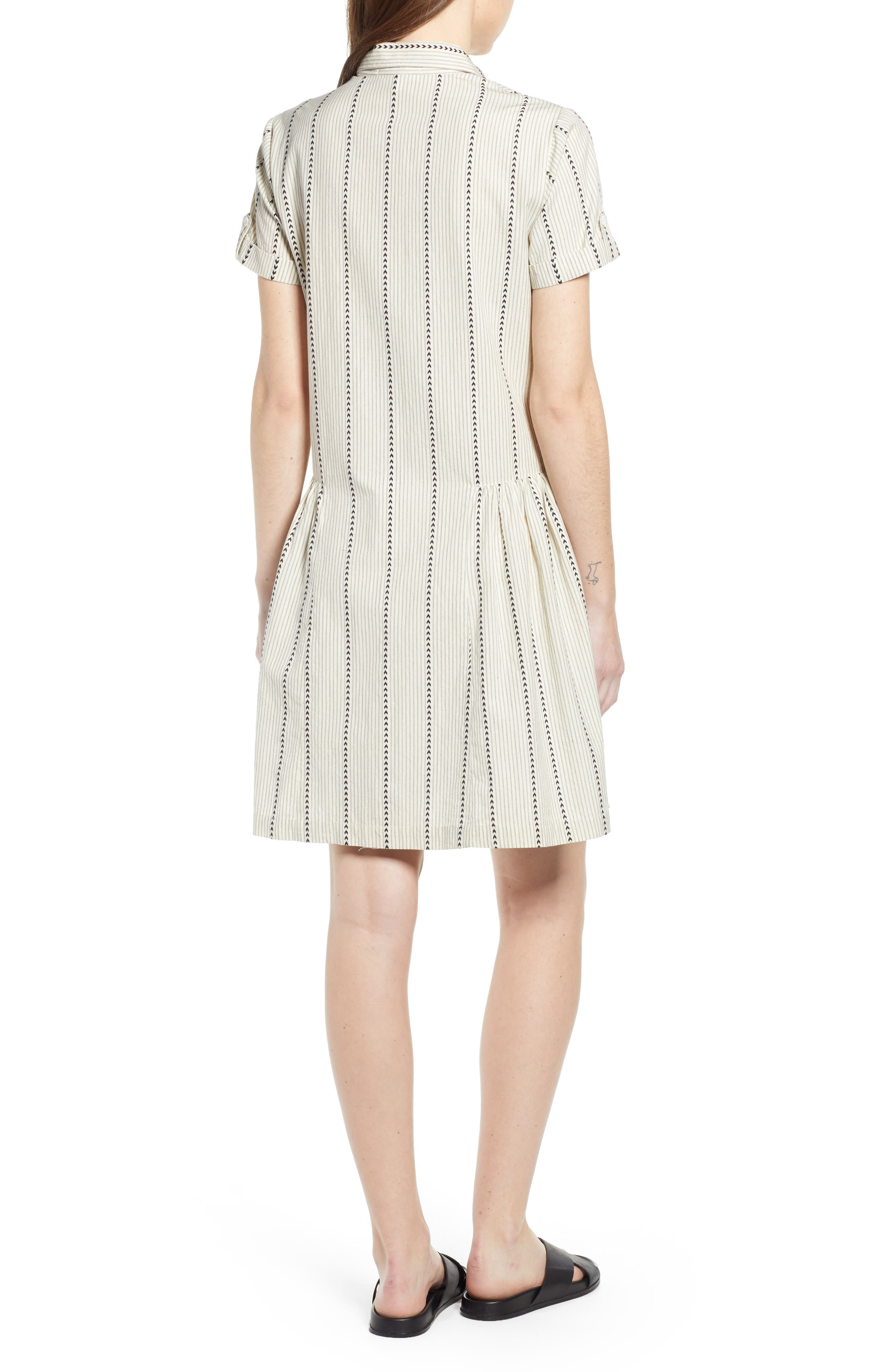 ,                             Damsel x THE ODELLS Easy Button-Up Cotton Dress,                             Alternate thumbnail 2, color,                             250