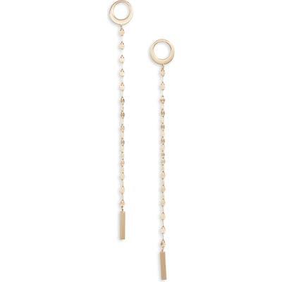 Lana Jewelry Casino Bond Linear Earrings