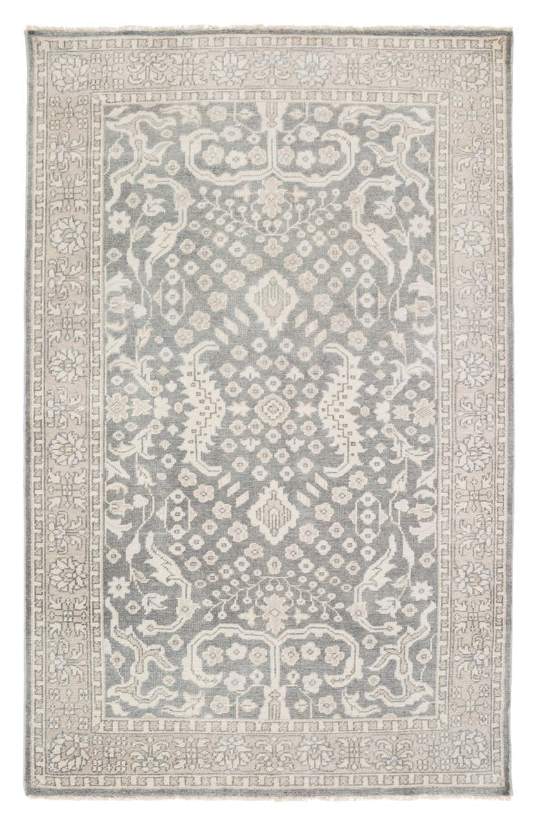 SURYA HOME Cappadocia Hand Loomed Area Rug, Main, color, GREY