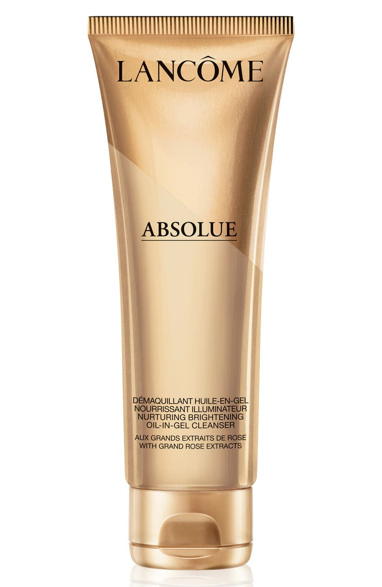 LANCÔME Absolue Nurturing & Brightening Oil-in-Gel Cleanser, Main, color, NO COLOR