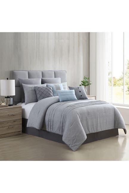 Image of Modern Threads 10-Piece Printed Comforter Set - Bedford - Queen