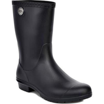 Ugg Sienna Rain Boot, Black