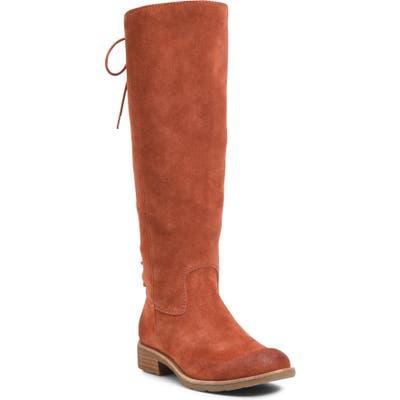 Sofft Sharnell Ii Waterproof Knee High Boot- Orange