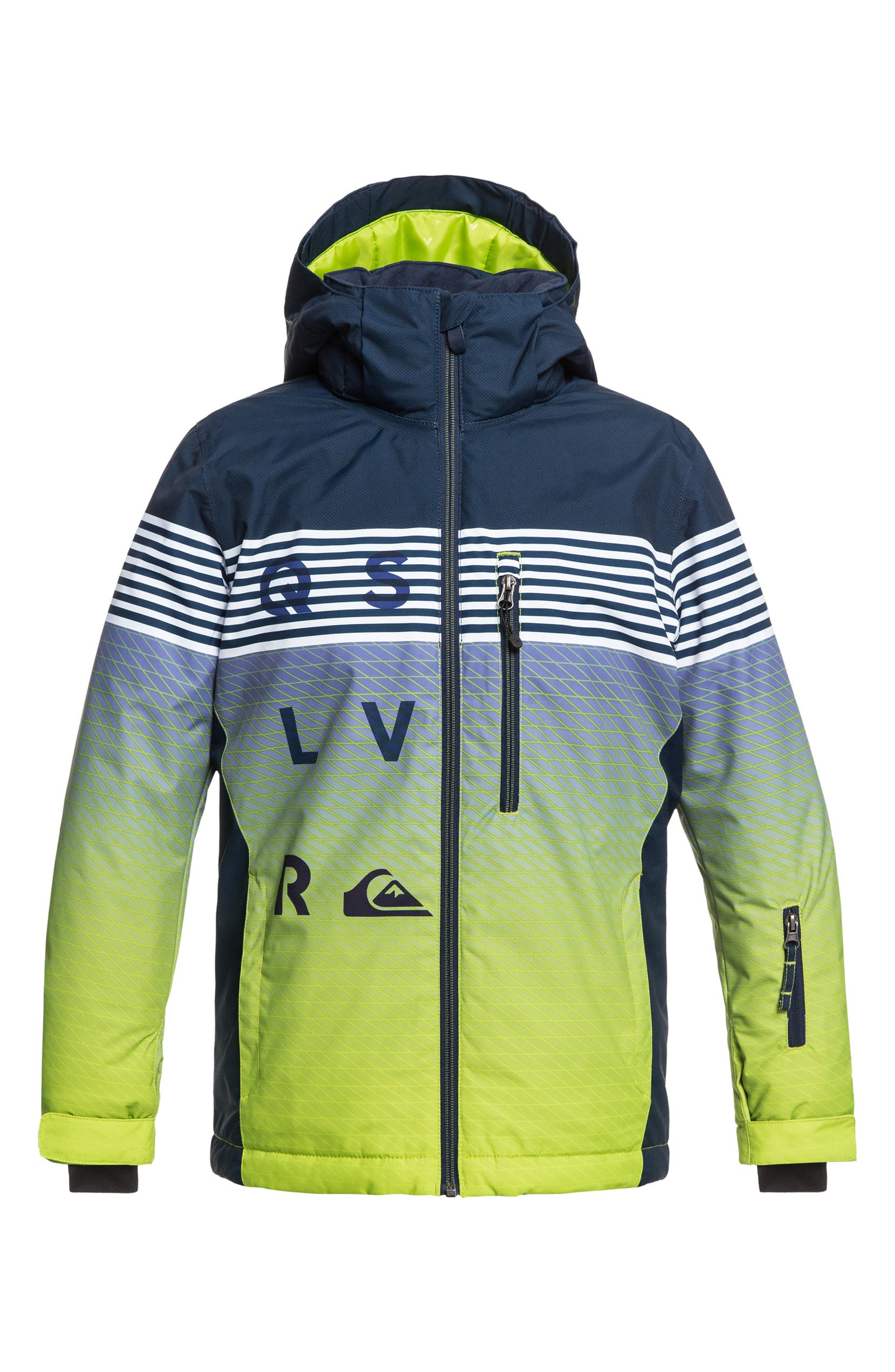 bf10d44ee Quiksilver Mission Engineered Waterproof Insulated Jacket (Big Boys ...