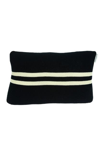 """Image of Parkland Collection Bounty Nautical Pillow - 12"""" x 20"""" - Blue"""