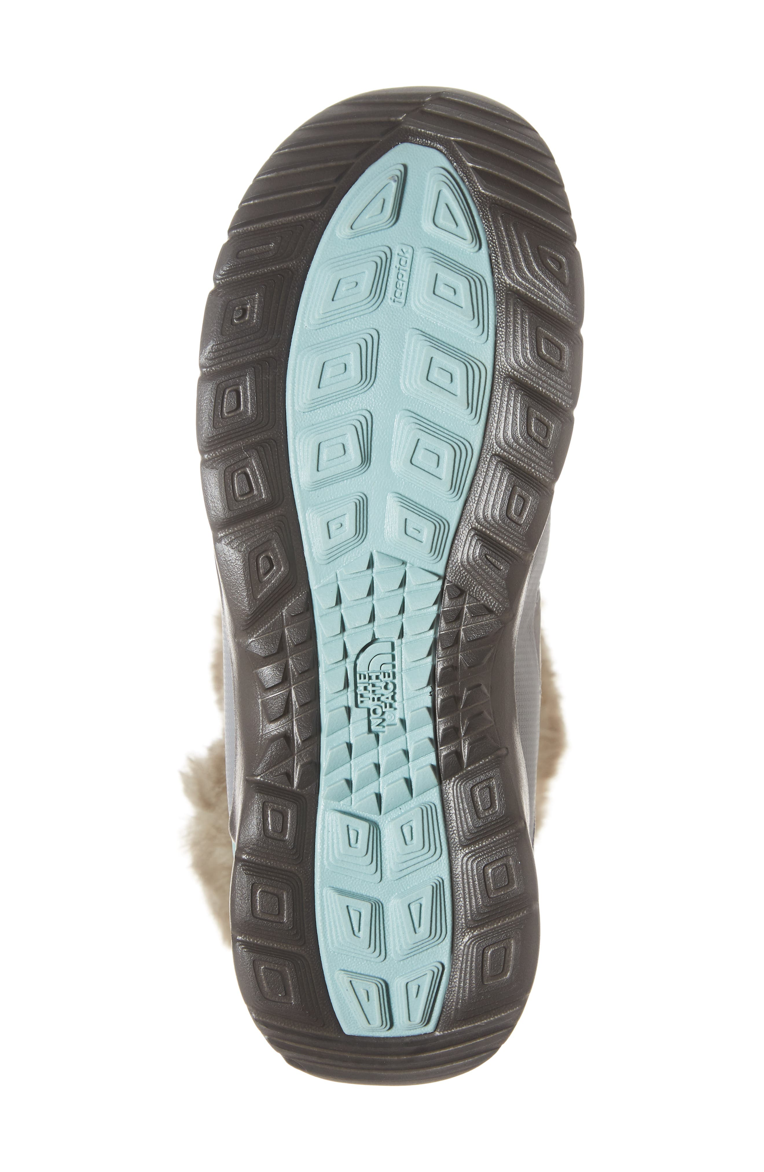 ,                             Microbaffle Waterproof ThermoBall<sup>®</sup> Insulated Winter Boot,                             Alternate thumbnail 6, color,                             SHINY FROST GREY/ BLUE HAZE
