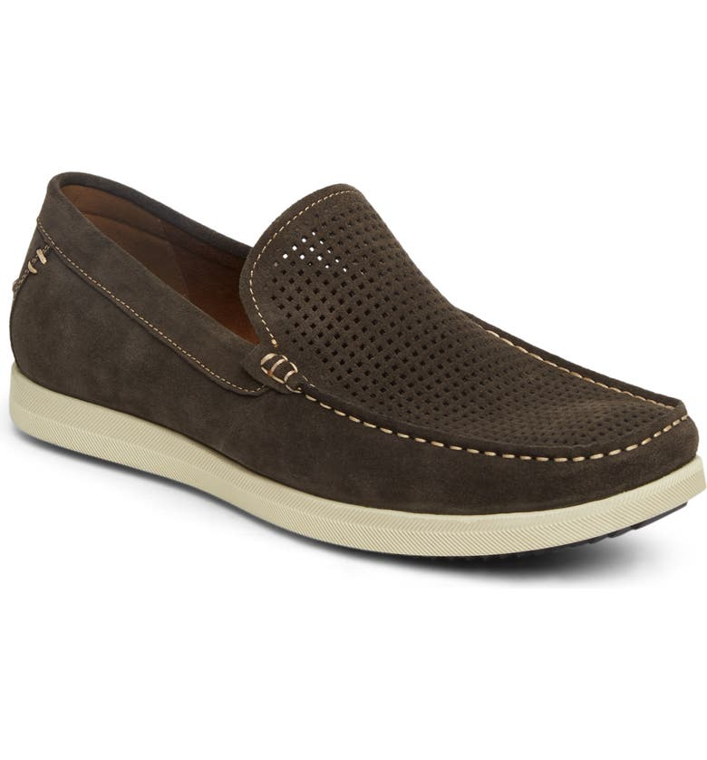 REACTION KENNETH COLE Kenneth Cole Reaction Braylon Slip-On, Main, color, GREY SUEDE
