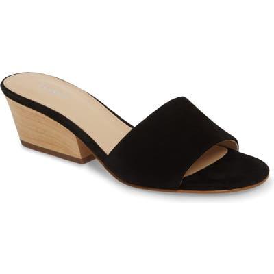 Botkier Carlie Slide Sandal- Black
