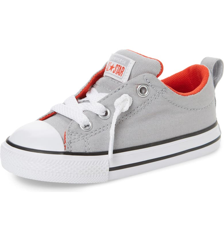 CONVERSE Chuck Taylor<sup>®</sup> All Star<sup>®</sup> Street Ox Sneaker, Main, color, WOLF GREY
